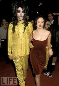 Marilyn Manson & Rose McGowan