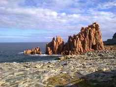 Le rocce rosse, Arbatax - Sardegna # by theblueparrot