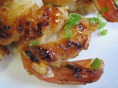 Dukan Diet Recipe Ginger Honey Shrimp