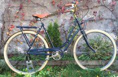 RE FAB-DIJON à la carte commande vélo bicyclette homme bleu nuit doré Bike Frame, Vintage Cycles, Color Pop, Midnight Blue, Bicycle Kick, Paint