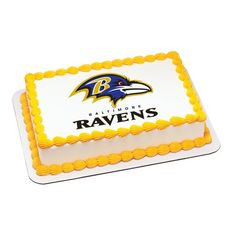 Baltimore Ravens Cake Topper | My Party Helpers | $9.49 Free Shipping