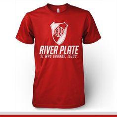 River Plate Argentina T-shirt - El mas grande lejos