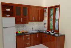Best Wood Home Interior Islands Ideas Kitchen Room Design, Home Room Design, Kitchen Cabinet Design, Home Decor Kitchen, Kitchen Interior, Home Kitchens, Room Kitchen, Kitchen Modular, Smart Kitchen