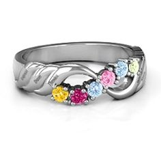 Infinity and Wave Ring #jewlr