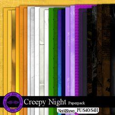 Creepy Night paperpack