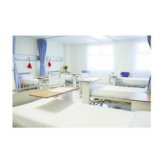 Empty beds in hospital room (1.540 BRL) ❤ liked on Polyvore featuring home, children's room and children's furniture