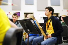 A musical prodigy and honor student Gerardo Gomez, known for his excellence in multiple instruments including piano, drums, and saxophone and in various disciplines of music including marching band, orchestra, jazz band, is highlighted in the news for his participation in Honor Band. JPG