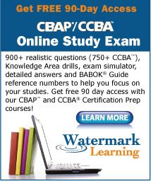 CBAP/CCBA Resources | Business Analysis Training, Project Management Training | Watermark Learning Application Worksheet for calculating work history