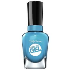 Sally Hansen Miracle Gel Nail Polish, 630, Rhythm & Blues, .5 Oz ($7.49) ❤ liked on Polyvore featuring beauty products, nail care, nail polish, blue, gel nail polish, gel nail varnish, sally hansen nail color, sally hansen nail care and sally hansen