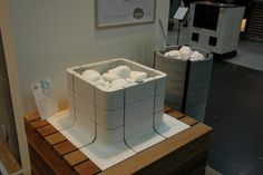 Tulikivi's integrated Nuoska saunaheater won Fennia Prize for its design.  http://1.bp.blogspot.com/-3AHQAMLewYc/TyWald4F1uI/AAAAAAAABME/uTKdlKd8k9c/s640/DSC_0018.JPG