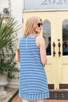 Three Stripe @oldnavy Dresses - A PIECE of TOAST // Lifestyle + Fashion Blog // Dallas #oldnavystyle