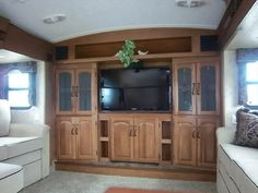 Front Living Room Montana Fifth Wheel