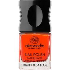 Alessandro 14 Orange Red. Nagellak voor kunst- en natuurlijke nagels.