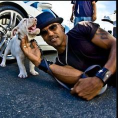DROOL!!!  Shemar Moore and baby Shug