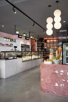Hunter & Co Deli in Elsternwick, Melbourne by Mim Design | Yellowtrace