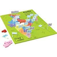 Imagimake Mapology India With State Capitals Educational Toy And Learning Aid In 2020 Educational Toys Map Puzzle Return Gifts For Kids