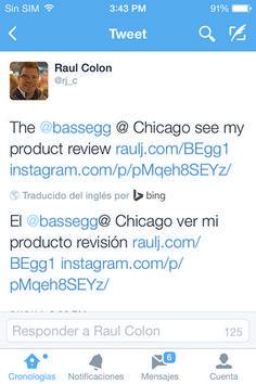 La nueva actualización de Twitter para iOS ofrece traducir tweets al idioma del usuario