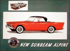 Sunbeam Alpine ~ another Bond car