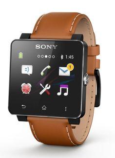 Smartwatch SE20CBRUN Sony brauner Armband aus Leder für Smartwatch 2