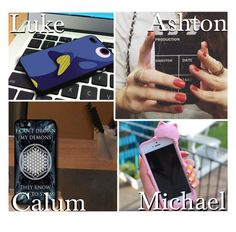 """""""The Phone Case He Gets You!"""" by x5sosxpreferencesx ❤ liked on Polyvore featuring art"""