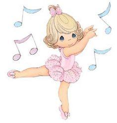precious moments bailarina1