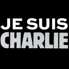 We Are Charlie. Violence doesn't solve anything.