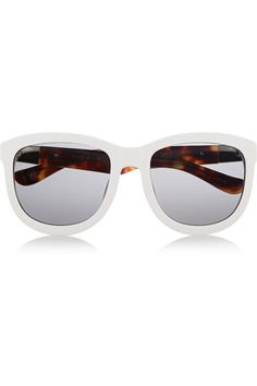 The Row D-frame acetate sunglasses