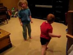 Watch the redheaded boy dancing...  If this doesn't make you laugh nothing will