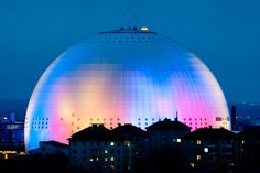 Globen, Stockholm, Sweden Kilroy Was Here, Alaska, About Sweden, Civil Construction, Sweden Travel, Gothenburg, Stockholm Sweden, Guinness, Nature Photos