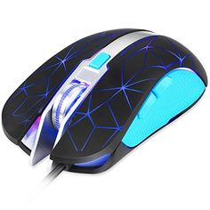 Amazon.com: AULA Spirit Wired USB Gaming Mouse Optical Engine LED Lighting Mouses for Computer,6 Buttons 4000 DPI White: Computers & Accessories