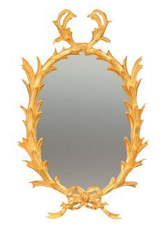George III Miniature Giltwood Oval Mirror Custom Mirrors, Oval Mirror, Miniatures, Home Decor, Decoration Home, Room Decor, Interior Design, Mockup, Home Interiors