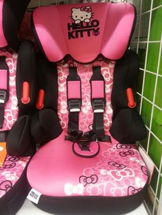 Hello Kitty Car Seat And Stroller.Baby Trend Hello Kitty Jogger Travel System Walmart Com. Toddler Slide, Toddler Car Seat, Car Seat And Stroller, Baby Car Seats, Hello Kitty Car, Punk Baby, Booster Car Seat, Hello Kitty Collection, Cool House Designs