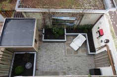 tuinaanleg van een kleine achtertuin in voorburg