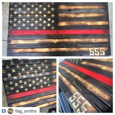 This is straight awesome right here. Make sure to give these guys a follow. We are going to raffle this off @fdicindy #Repost @flag_smiths with @repostapp.  Shipping this Thin Red Line out today! This is a donation to @555fitness for their program they have goin on over there. Go check out their page and give them a follow. Thanks for the interest in FlagSmiths guys #redwhiteblue #firefighter #peaceofficer #policeofficers #thinredline #thinblueline #OldGlory #red #white #blue #wooden #flags…