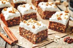 Chocolate Chip Carrot Cake is a delicious way to use up a pound of carrots. This cake recipe is topped simply with a cream cheese frosting. Raw Food Recipes, Cake Recipes, Spring Recipes, Food Cakes, Cream Cheese Frosting, Yummy Cakes, Cinnamon Cream Cheeses, Carrots, Food And Drink