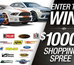 Brothers Performance $1000 Shopping Spree Sweepstakes