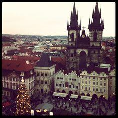 Old Town Square Christmas Markets Prague | FlorenceForFun