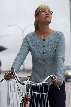 knitted cardi