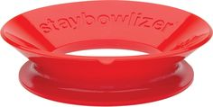 Now Designs Staybowlizer, Red >>> Awesome deals : Mixing bowls baking