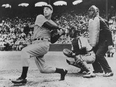 Joe DiMaggio, New York Yankees (circa 1944) // @Jacob Renquist Pillai York Yankees