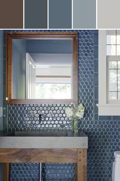 Nottingham tiles Designed By ANN SACKS via Stylyze