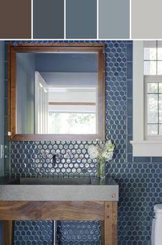 Nottingham tiles Designed By ANN SACKS via Stylyze