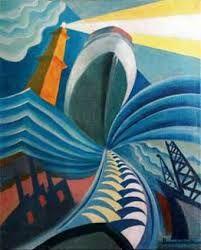 file name: Giovanni Coletta Futurismo Bike Futurist Painting, Italian Futurism, Futurism Art, Italian Art, Landscape Art, All Art, Modern Art, Street Art, Abstract Art