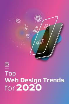 What's going to be hot in web design in Here are our predictions and some trends from 2019 that we'll still be seeing plenty of. Informations About The Top Web Design Trends for 2020 Pin You can Flat Web Design, Minimal Web Design, Web Design Trends, Design Websites, Web Design Tips, App Design, 2020 Design, Web Design Tutorials, Minimal Logo
