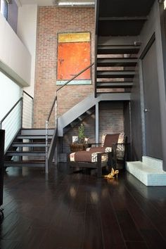 Studio D - industrial - staircase - phoenix - Danielle Wallinger