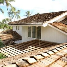 Cedar Shake Roof~ love the look it gives a house