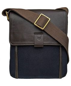 Aiden Canvas and Leather Small Crossbody Messenger Bag - Blue - Blue -  CL126LWIMNT. Crossbody Messenger BagMessenger Bag MenCoach Leather  HandbagsFashion ... 576b652afa2a1