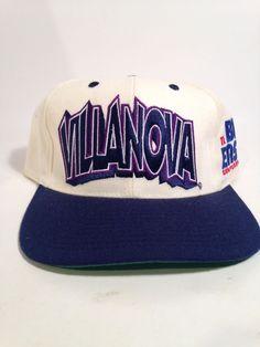 Vintage Twins Enterprise Villanova Big East Vintage 90 039 s Snapback  21e77971493d