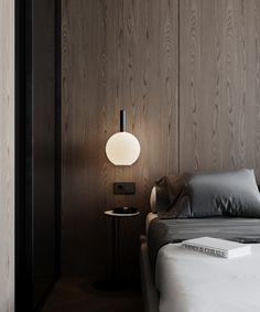 bedroom Bedroom Wall Designs, Bedroom Closet Design, Dream Bedroom, Home Bedroom, Bedrooms, Modern Interior, Home Interior Design, Interior Architecture, Bedhead Design