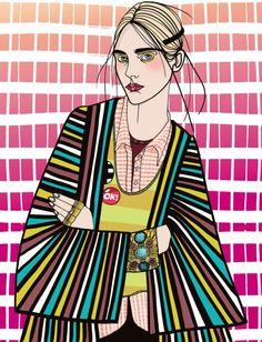 Illustration by Liselotte Watkins